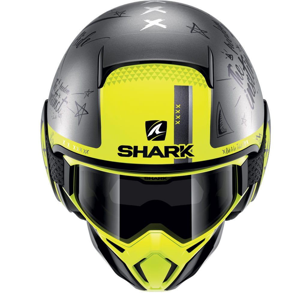 Мотошлем Shark Street Drak Tribute ASY