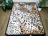 """Плед """"Тигровый принт"""" (Полуторного размера)"""