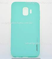 Бампер силиконовый SMTT Soft Touch для Samsung J2 Core бирюзовый