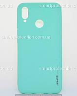 Бампер силиконовый SMTT Soft Touch для Huawei P Smart Plus бирюзовый