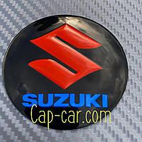 Наклейки для дисков с эмблемой Suzuki. ( Сузуки ) Цена указана за комплект из 4-х штук