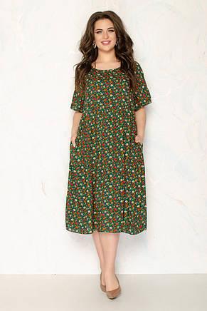 Женское летнее платье 1290-3, фото 2