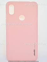 Чехол накладка для Xiaomi S2 розовый  SMTT Soft Touch