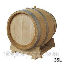 Бочка дубовая объемом 35 л