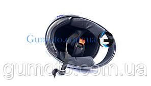 Шлем для мотоцикла Hel-Met 101 синий, фото 3