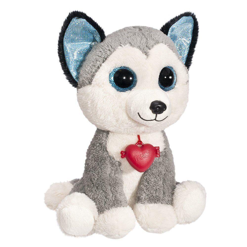 Мягкая игрушка Собачка Хаски Глазастик 24 см Fancy GHK0/S