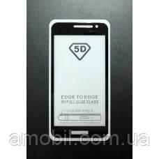 Защитное стекло 5D Samsung Galaxy J2 Core J260 full glue black