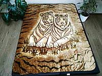 "Плед ""Тигры"" (Полуторного размера)"