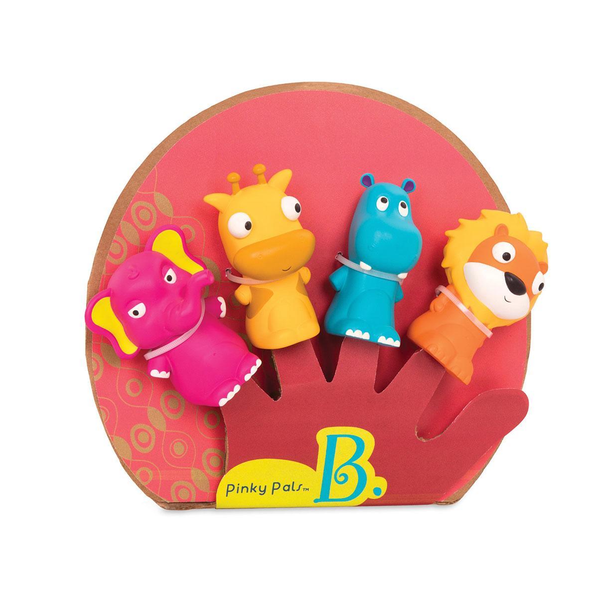 Игровой набор серии Пальчиковый театр - Команда Африка Battat Animal Finger Puppets