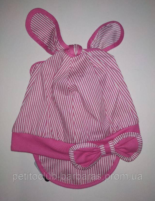 Летняя панамка для девочки