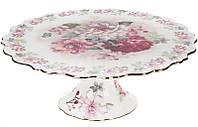 Подставка для торта Версаль Сад мечтаний 30.2 см фарфоровая psgBD-572-108, КОД: 1480325