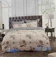 Постельное белье двуспальное евро Семейное фланель Турция 4 наволочки 200*230 см