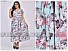 Красивое женское платье в большом размере размер:54.56.58.60.62.64, фото 5