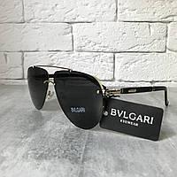 Солнцезащитные очки BVLGARI B98166 черный в золоте