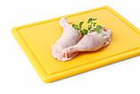 Доска разделочная  коричневая  HACCP 450х300х127  (варёное мясо, колбасы), фото 3