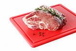 Доска разделочная  коричневая  HACCP 450х300х127  (варёное мясо, колбасы), фото 6
