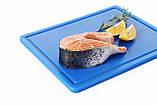 Доска разделочная  коричневая  HACCP 450х300х127  (варёное мясо, колбасы), фото 7
