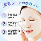 Mandom Barrier-Repair гладка, відновлювальна, захисна маска 22 мл есенції 5 шт, фото 5