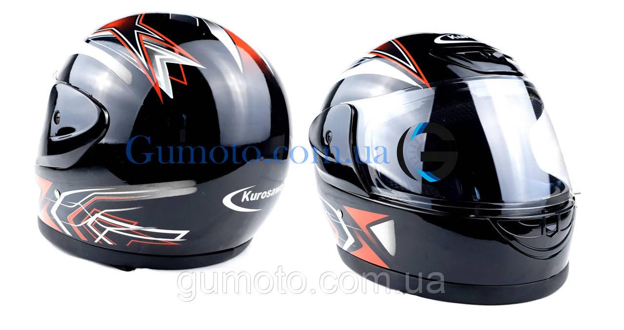 Шлем для мотоцикла Hel-Met 802 черный размер М
