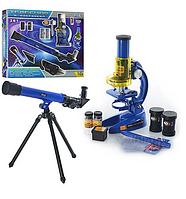 Игровой набор, Микроскоп + телескоп CQ-031 с линзами