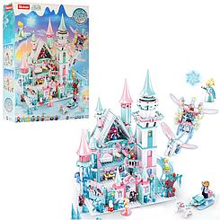 "Конструктор SLUBAN M38-B0789 ""Замок принцессы"", фигурки, 1324 дет, в кор-ке, 42,5x62x12,4см"