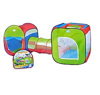 Детская Игровая палатка BAMBI M 2503, с тоннелем