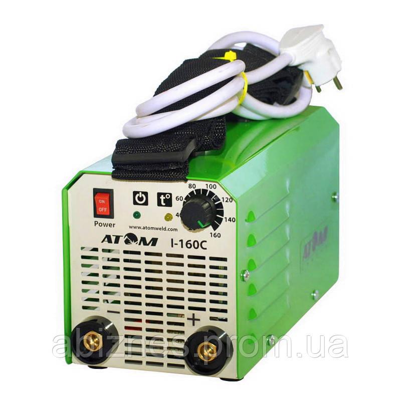 Инвертор сварочный АТОМ I-160С без сварочных кабелей и штекеров (вариант E)