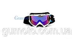 Кроссовые очки 634 motokross белые