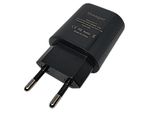 Сетевое зарядное устройство Essager XZD, Quick Charge 3.0, 18W черного цвета