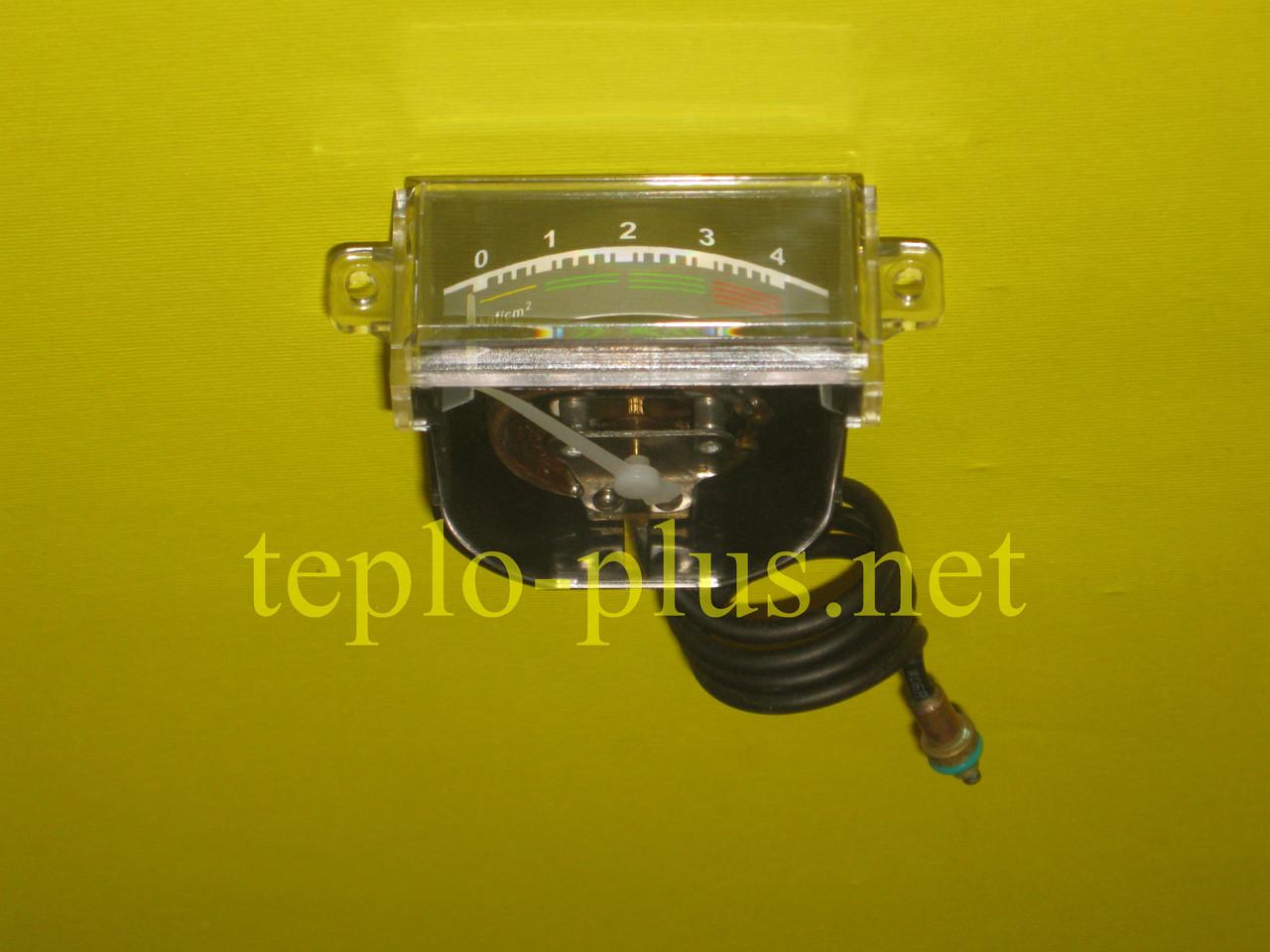 Манометр водяной прямоугольный 1-4 Bar Daewoo Gasboiler DGB-100, 130, 160, 200, 250, 300 ICH/KFC