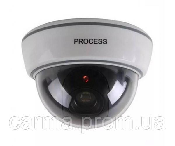 Купольная камера видеонаблюдения муляж обманка DS-1500B Белый