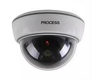 Купольная камера видеонаблюдения муляж обманка DS-1500B Белый, фото 1