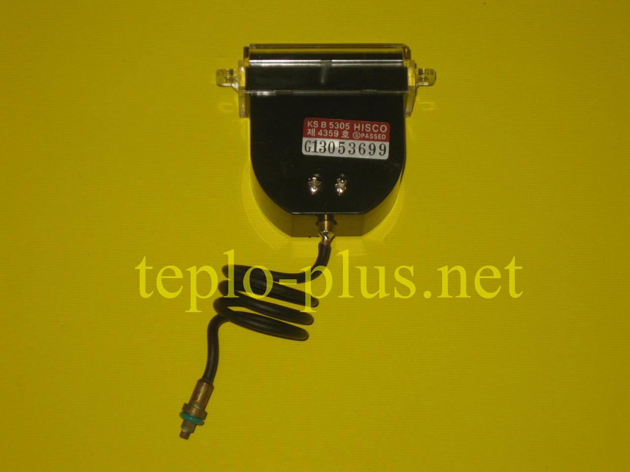 Манометр водяной прямоугольный 1-4 Bar Daewoo Gasboiler DGB-100, 130, 160, 200, 250, 300 ICH/KFC, фото 2