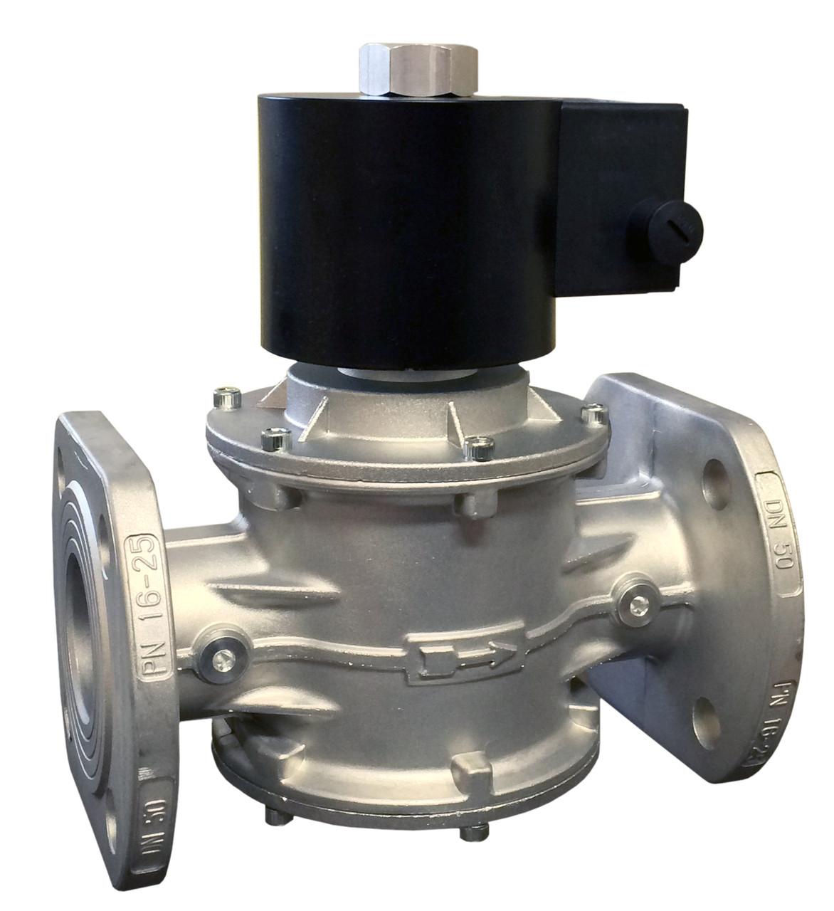 Электромагнитный клапан EV-3, DN50, P=3 bar (MADAS), фланцевый
