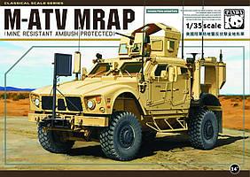 Oshkosh MRAP M-ATV model. Сборная модель в масштабе 1/35. PANDA HOBBY PH-35001