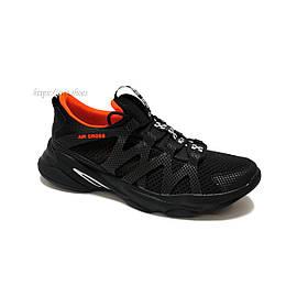 Кросівки чоловічі Extrem 2337/см190 сітка чорні
