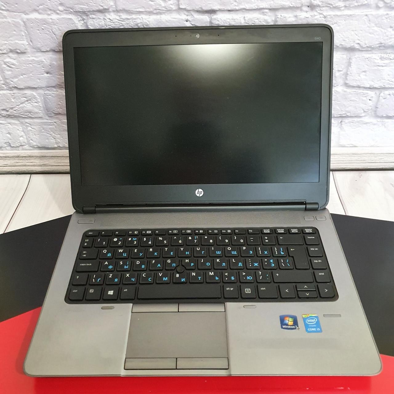 Ноутбук HP ProBook 640 14( Intel Core i3- 4000m/4x2.40GHz/4Gb DDR3/HDD 320 Gb/HD 4600)