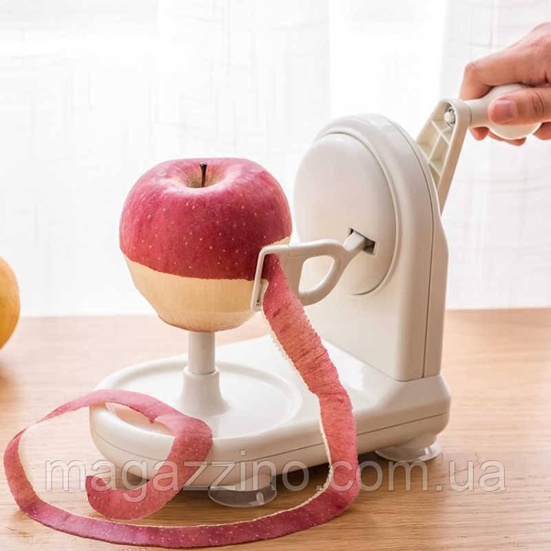 Ручная яблокочистка (Яблокорезка) Apple Peeler, прибор для чистки яблок