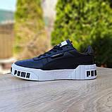 Кросівки Puma жіночі Cali Bold чорні на білому, фото 4