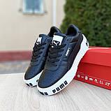 Кросівки Puma жіночі Cali Bold чорні на білому, фото 8