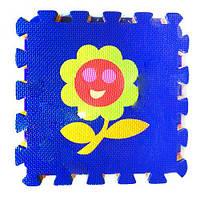 Коврик-пазл  Цветочек , 9 элементов
