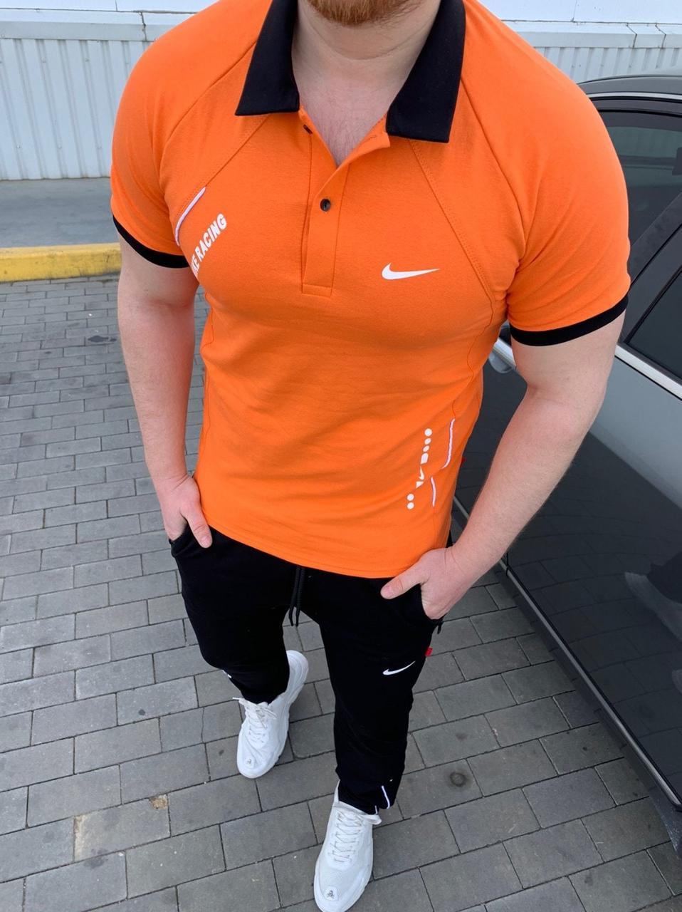 Мужской спортивный костюм летний короткий рукав Nike  реплика