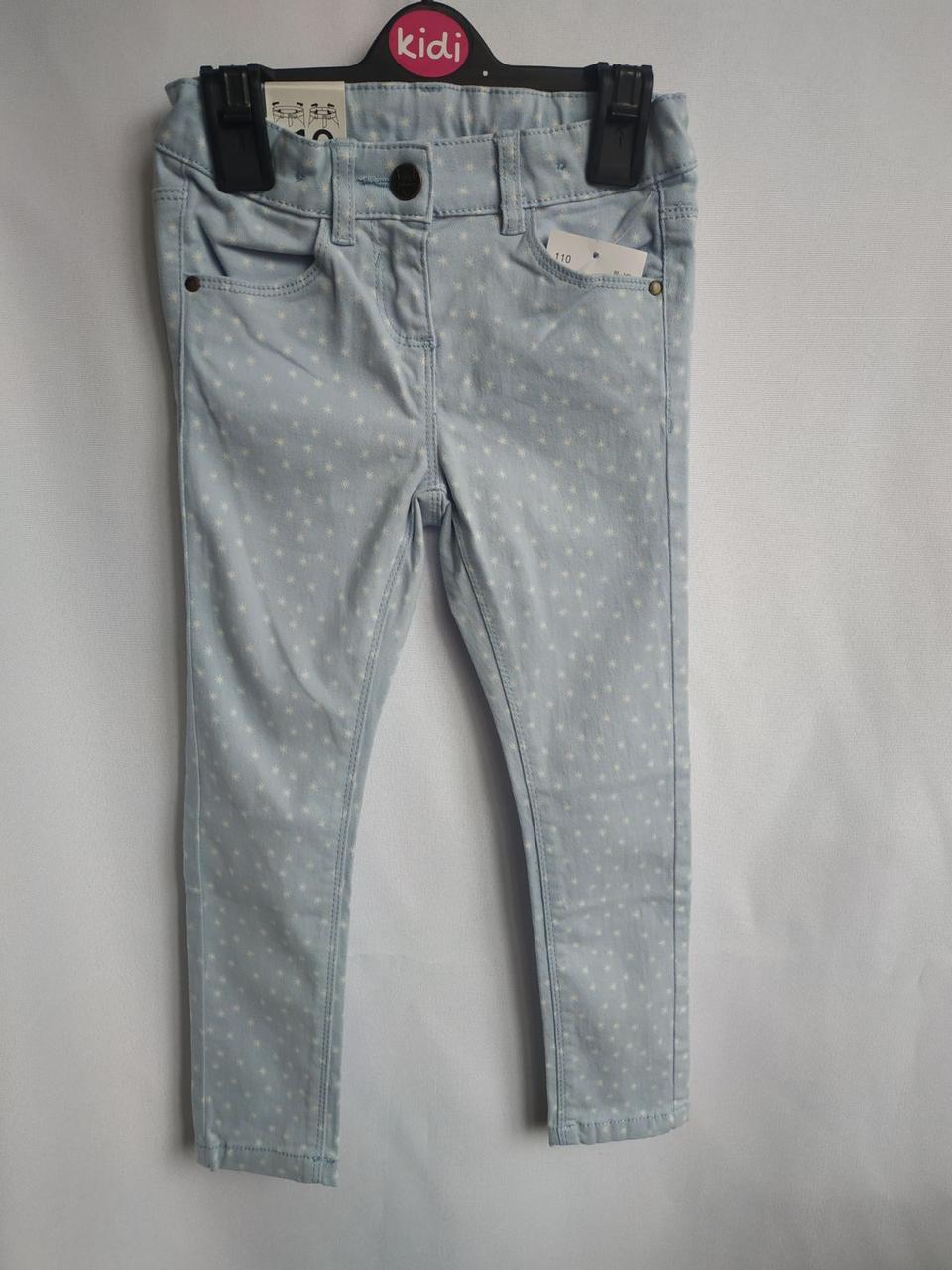 Блакитні джинси для дівчинки C&A Німеччина Розмір 110