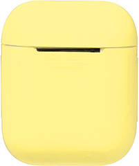 Чехол TOTO 1st Generation Without Hook Case AirPods Yellow 88505, КОД: 1301714