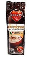 Капучино з смаком какао Hearts Cappuccino Mit Feiner Kakaonote 1 кг