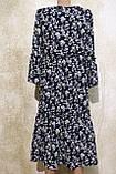 Модное летнее, длинное платье в мелких цветах. Модне, літнє, довге плаття ., фото 4