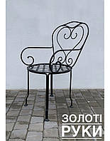 Крісло коване «Серце»