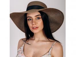 Шляпка широкополая Сьюзен  SHL-2046