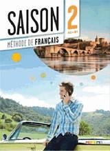 Saison 2 Méthode de Français: Livre de l'élève (A2-B1) + CD audio et DVD / Didier - Учебник