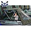 Тент-палатка для лодки Bark BT-270 или Барк B-300 рыбацкая палатка на надувную лодку, фото 4